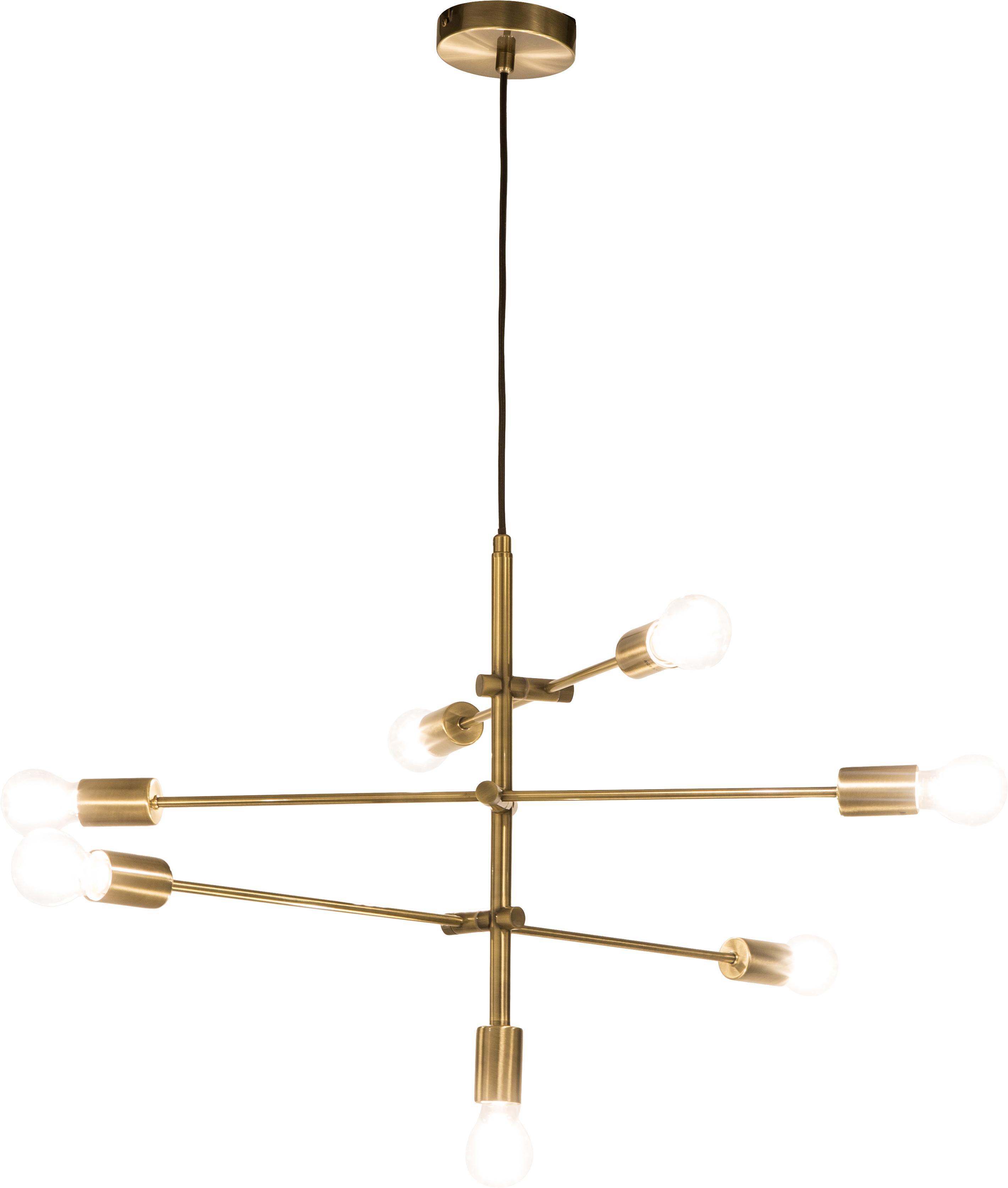 Grande suspension dorée Visby, Laiton