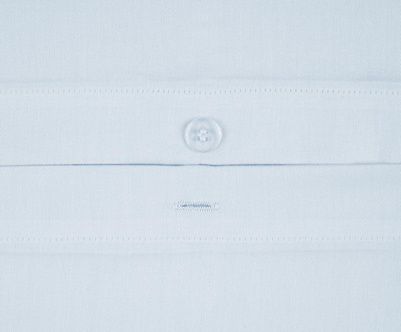 Baumwollsatin-Bettwäsche Comfort in Hellblau, Webart: Satin Fadendichte 250 TC,, Hellblau, 135 x 200 cm + 1 Kissen 80 x 80 cm