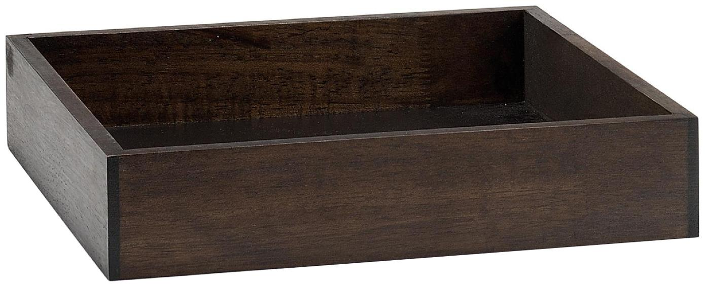 Deko-Tablett Matthias, Holz, Braun, B 29 x T 29 cm
