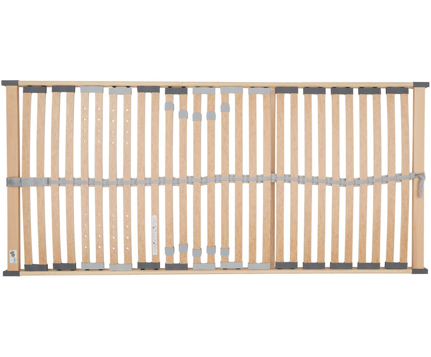 Lattenbodem Comfort Plus, Frame: multiplex, metaal, Lichtbruin, 90 x 200 cm