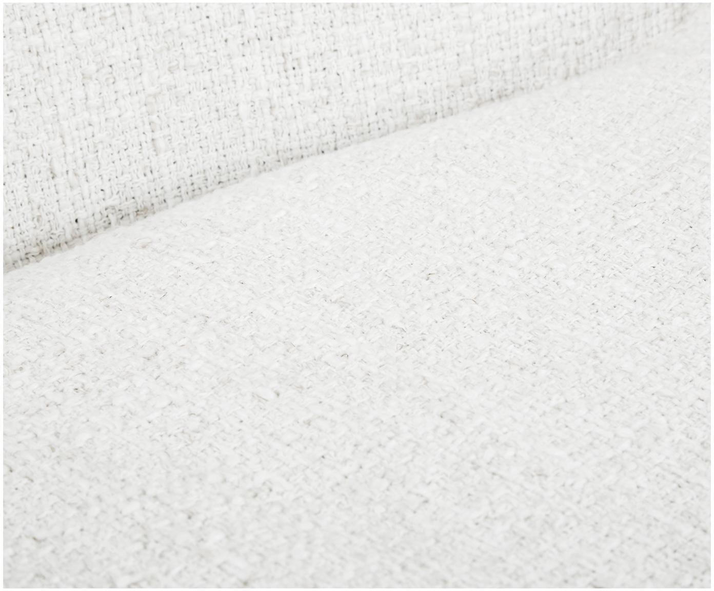Bouclé-Polsterstuhl Tess, Bezug: 70% Polyester, 20% Viskos, Beine: Metall, beschichtet, Bouclé Cremeweiß, Beine Gold, B 48 x T 64 cm