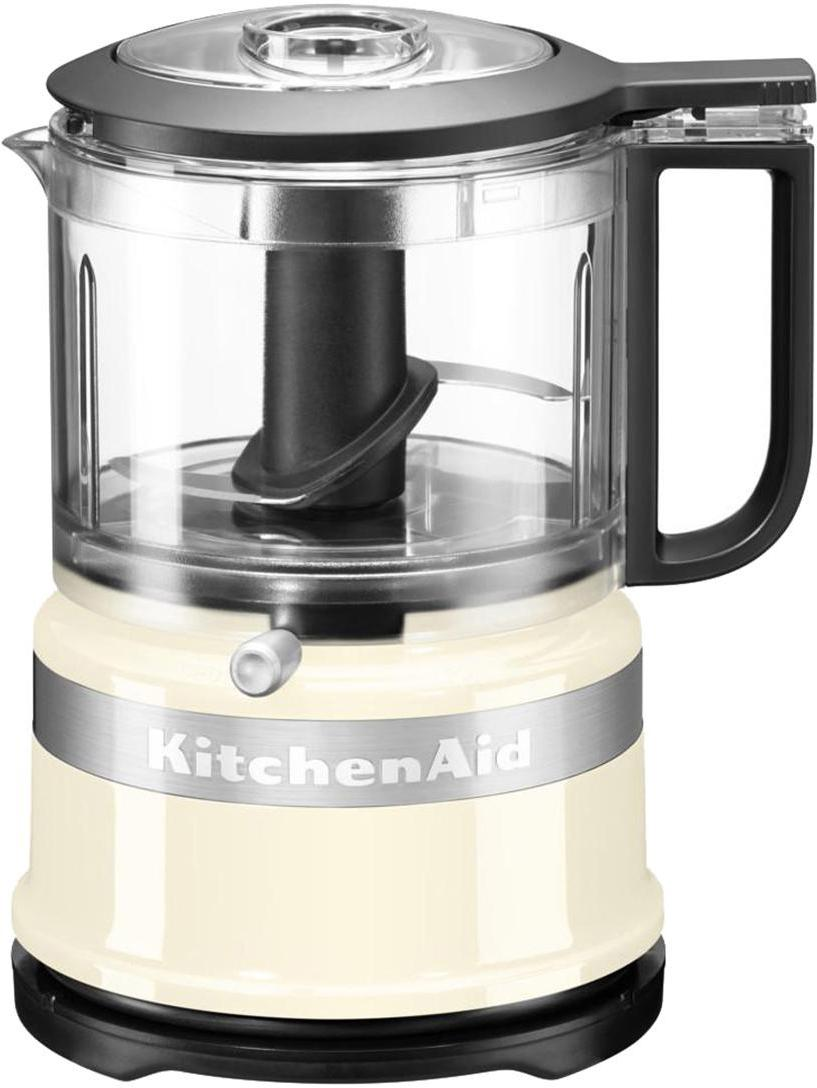 Food Processor KitchenAid Mini, Gehäuse: Kunststoff., Creme, 18 x 22 cm