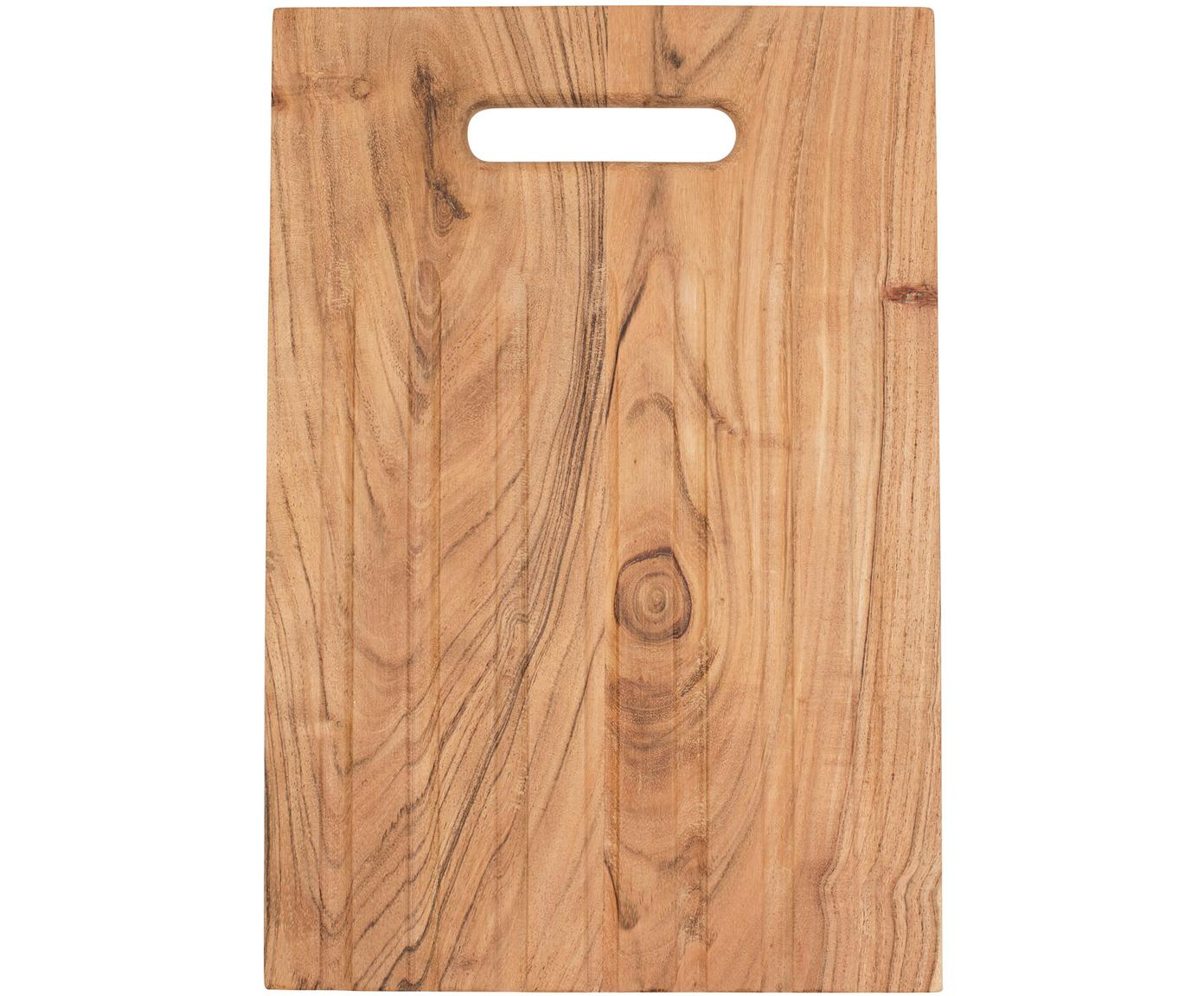 Snijplank Bert, Acaciahout, Acaciahoutkleurig, B 38 x D 25 cm