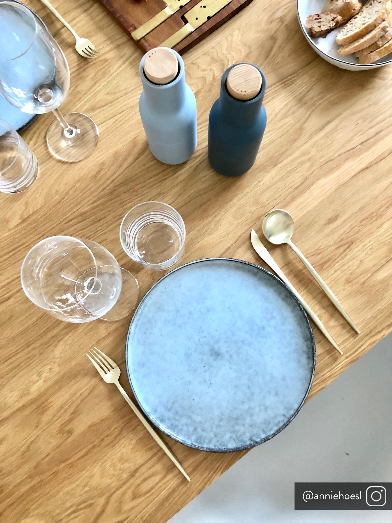 Set 24 posate color champagne opache in acciaio inossidabile in per 6 persone Faina, Acciaio inossidabile 18/0, rivestito, Champagne, opaco, Set in varie misure