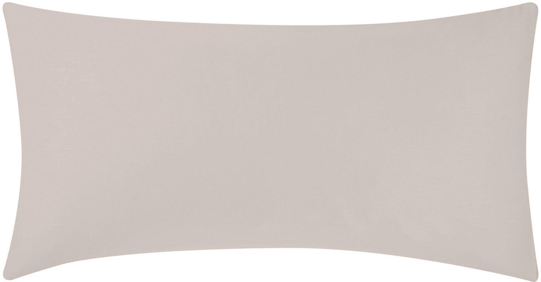 Baumwollsatin-Kissenbezüge Comfort in Taupe, 2 Stück, Webart: Satin Fadendichte 250 TC,, Taupe, 40 x 80 cm