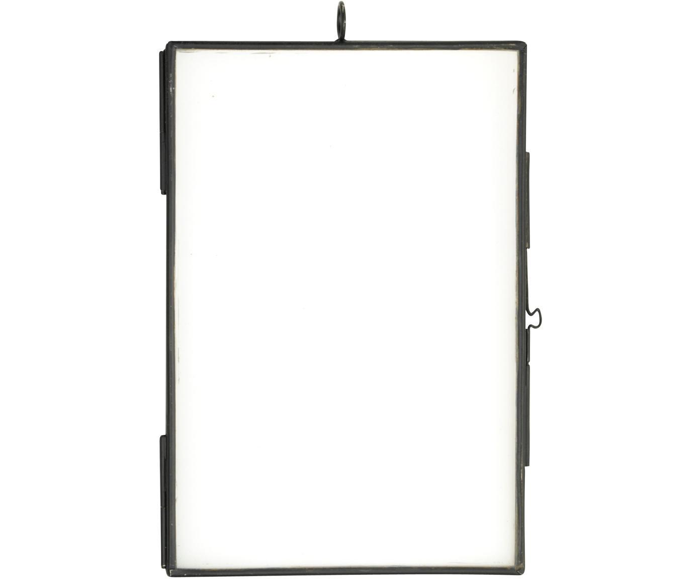 Marco Key, Vidrio, metal, recubierto, Negro, 10 x 15 cm