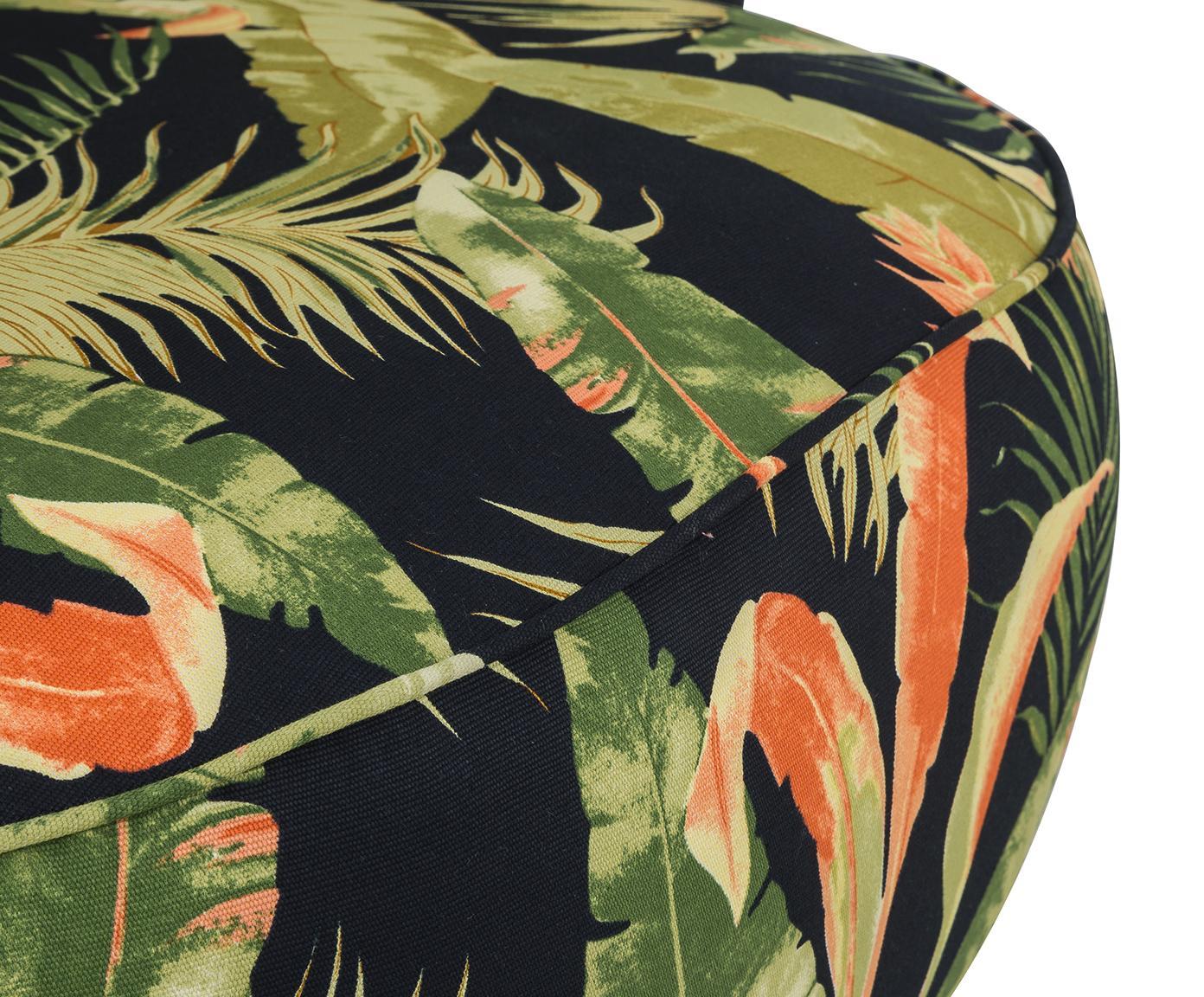 Fauteuil Ella, Bekleding: polyester, Poten: gelakt metaal, Multicolour, B 74 x D 78 cm