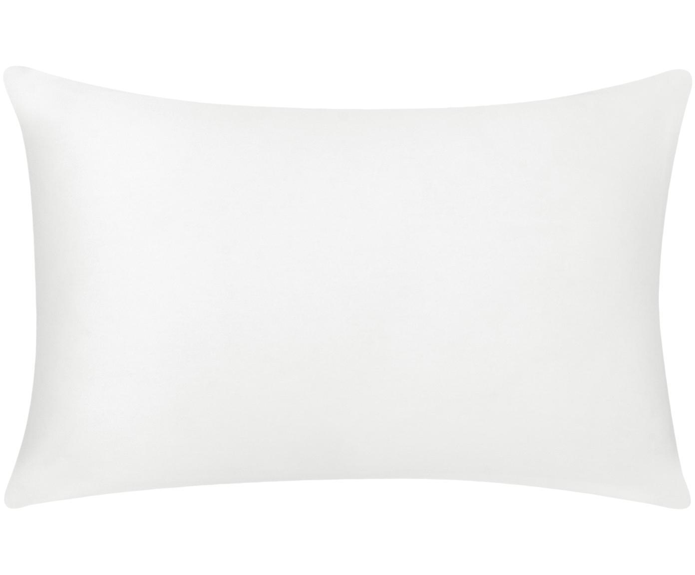 Poszewka na poduszkę z bawełny Mads, Bawełna, Biały, S 30 x D 50 cm