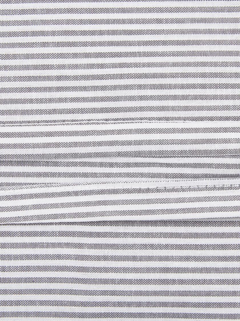 Dekbedovertrek Renato, Katoen, Antraciet, wit, 240 x 220 cm