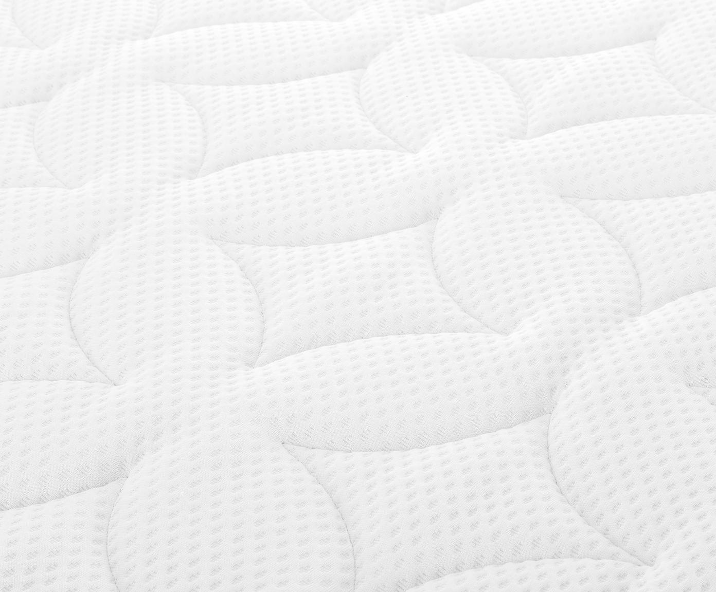 Premium boxspring bed Eliza, Matras: 7-zones-pocketveringkern , Poten: massief gelakt beukenhout, Beige, 200 x 200 cm