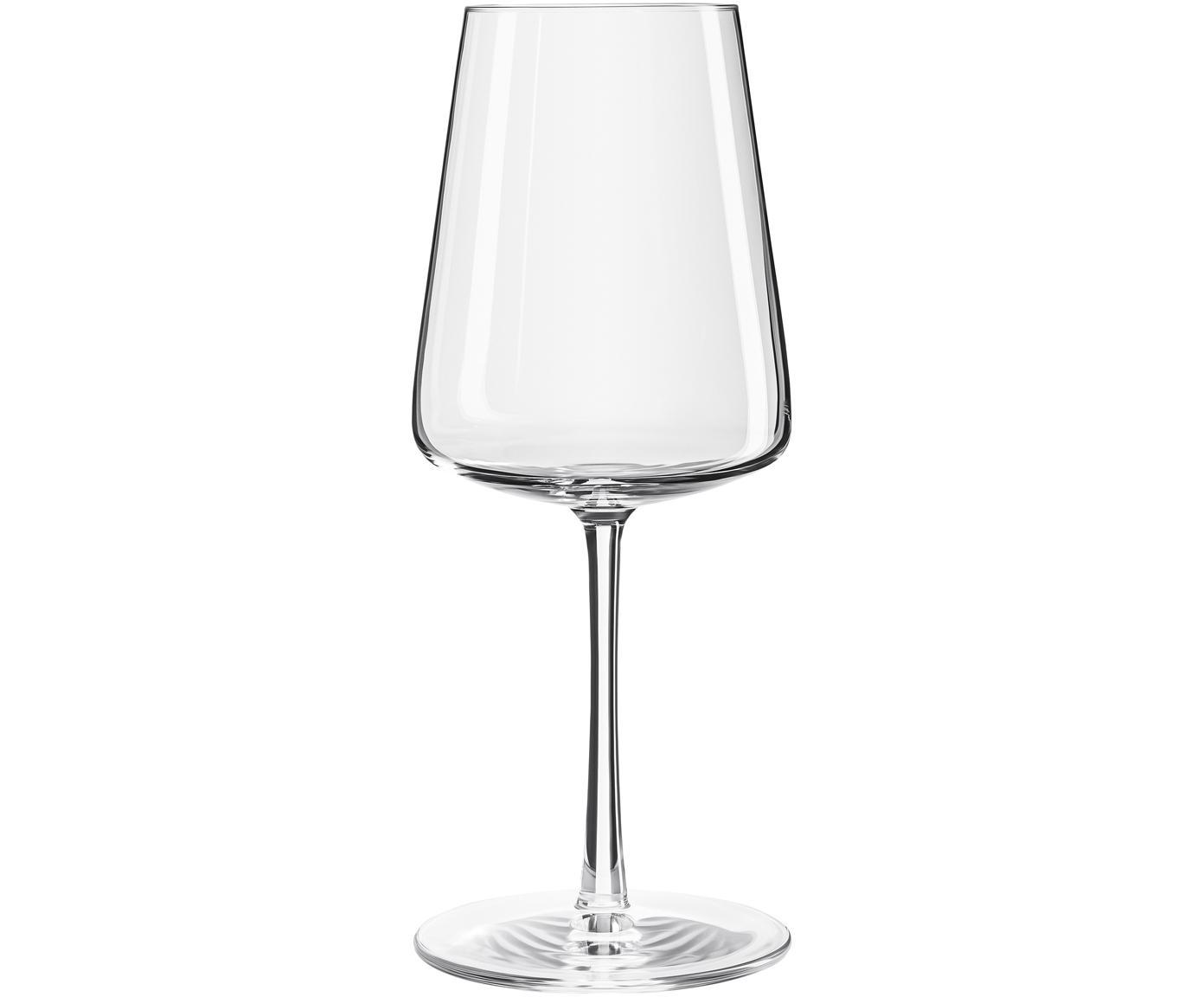 Kristall-Weissweingläser Power in Kegelform, 6er-Set, Kristallglas, Transparent, Ø 9 x H 21 cm