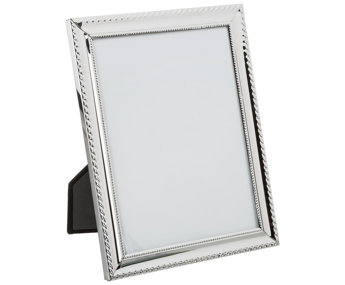 Cornice Julie, Cornice: metallo, Argentato, trasparente, 15 x 20 cm