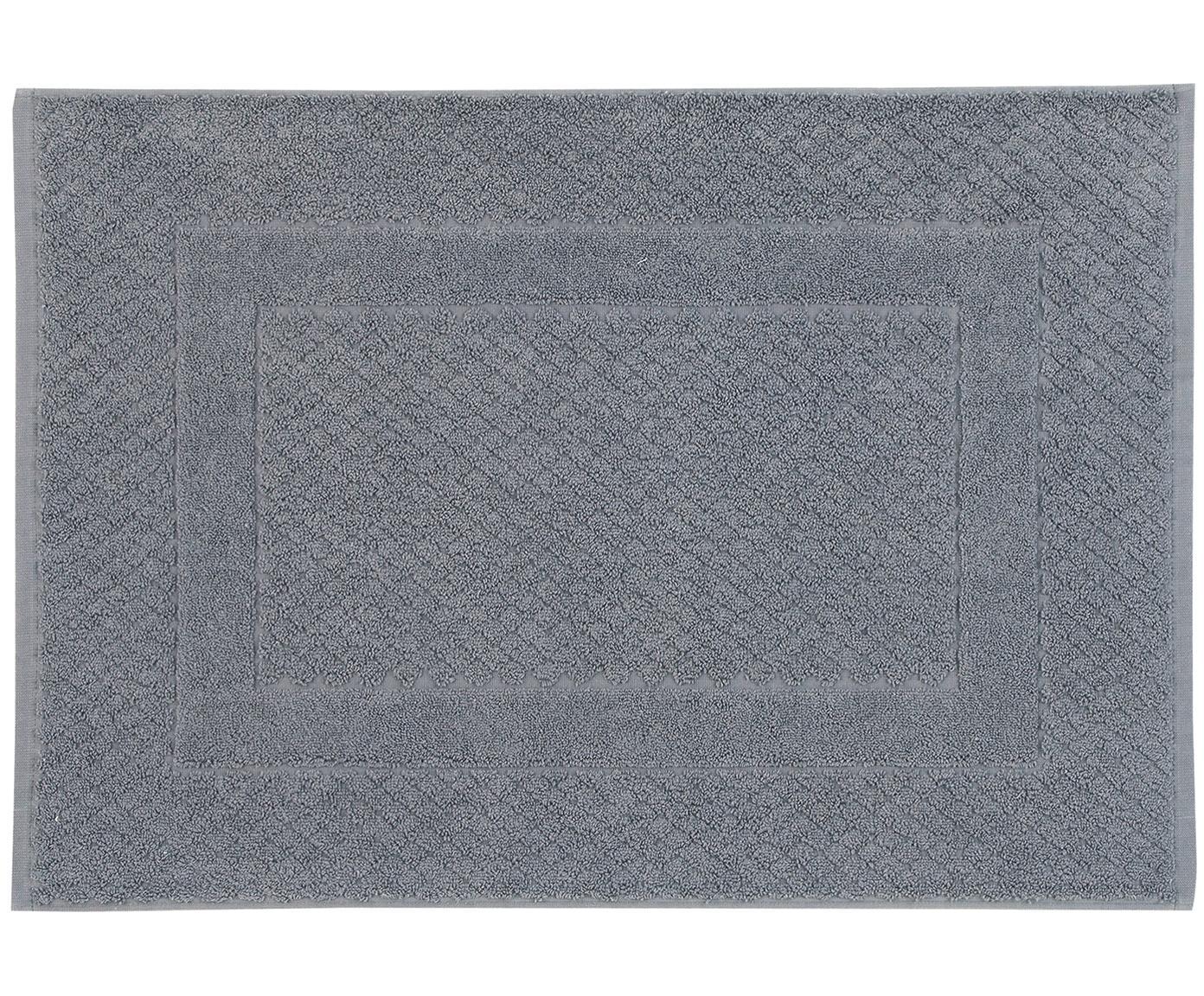 Badmat Katharina, 100% katoen, zware kwaliteit, 900 g/m², Donkergrijs, 50 x 70 cm