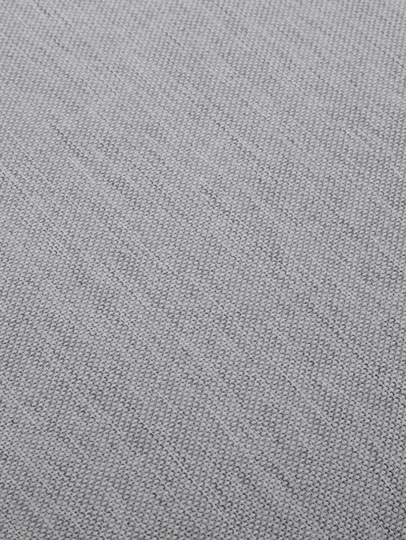 Ecksofa Zach, Bezug: Polypropylen Der hochwert, Füße: Kunststoff, Webstoff Grau, B 300 x T 213 cm