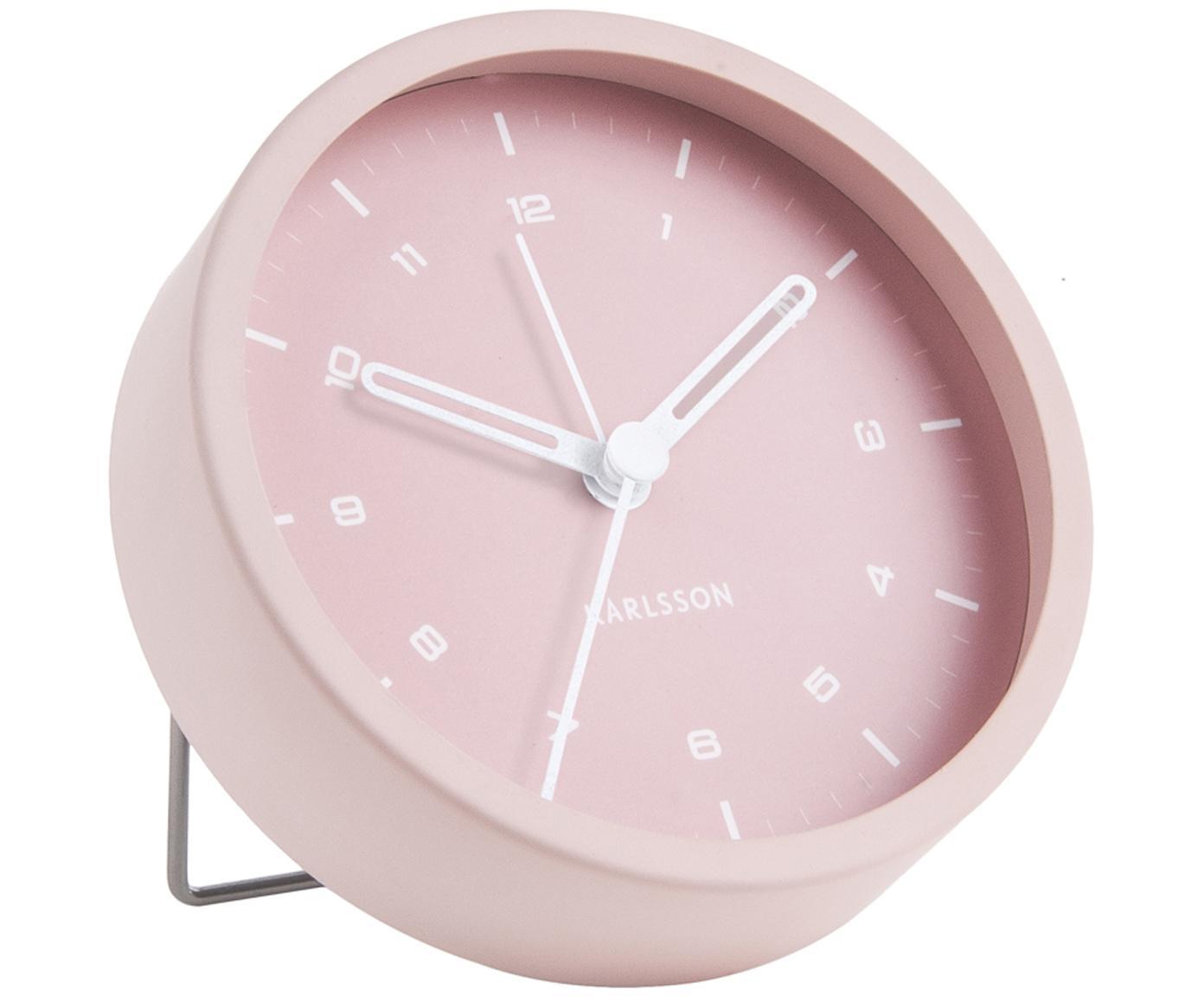 Despertador Tinge, Acero, pintado, Rosa, Ø 9 x F 3 cm
