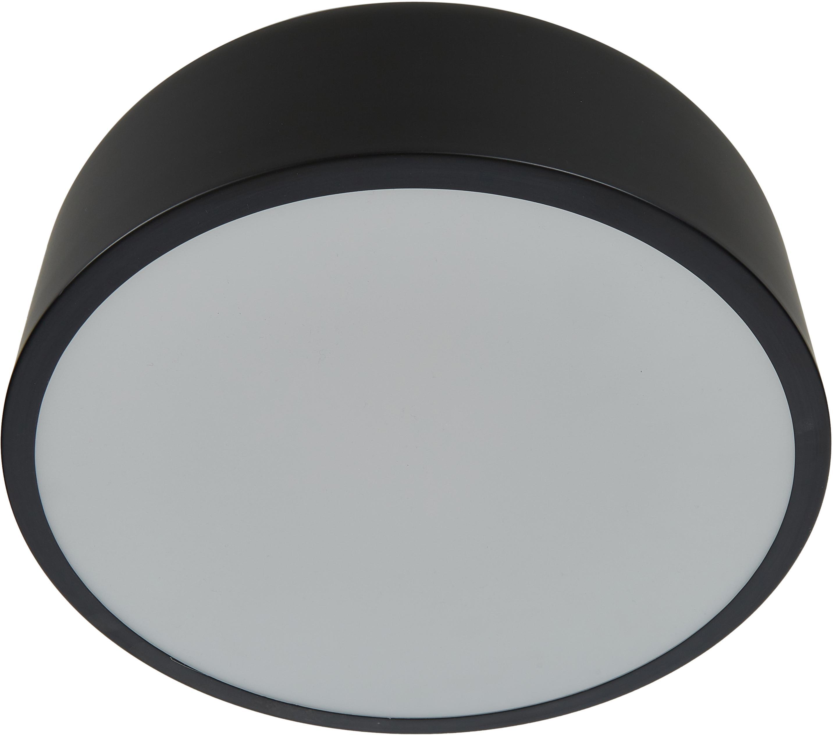 Plafonnier scandinave Ole, Noir, mat