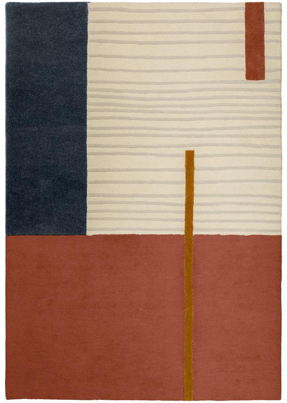 Dywan z wełny Bahiti, Tkanina, Wielobarwny, S 160 x D 230 cm (Rozmiar M)