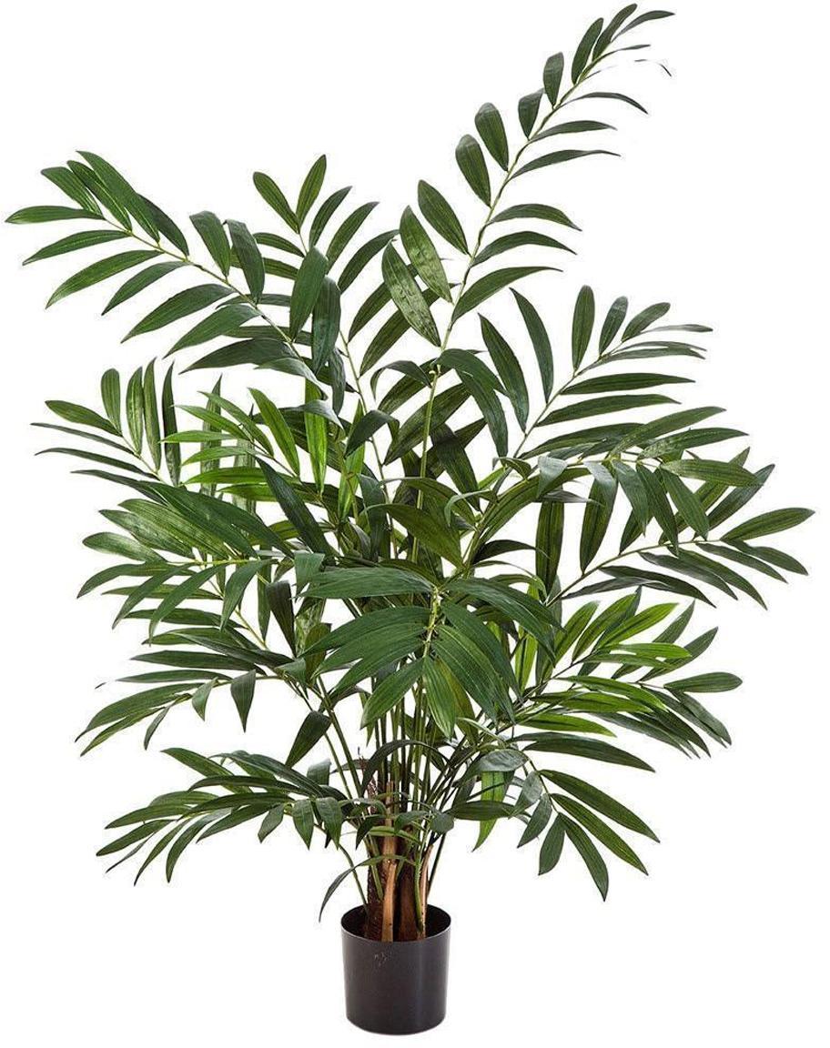 Planta artificial Palmera, Poliéster, Polietileno, Verde, Ø 60 x Al 110 cm