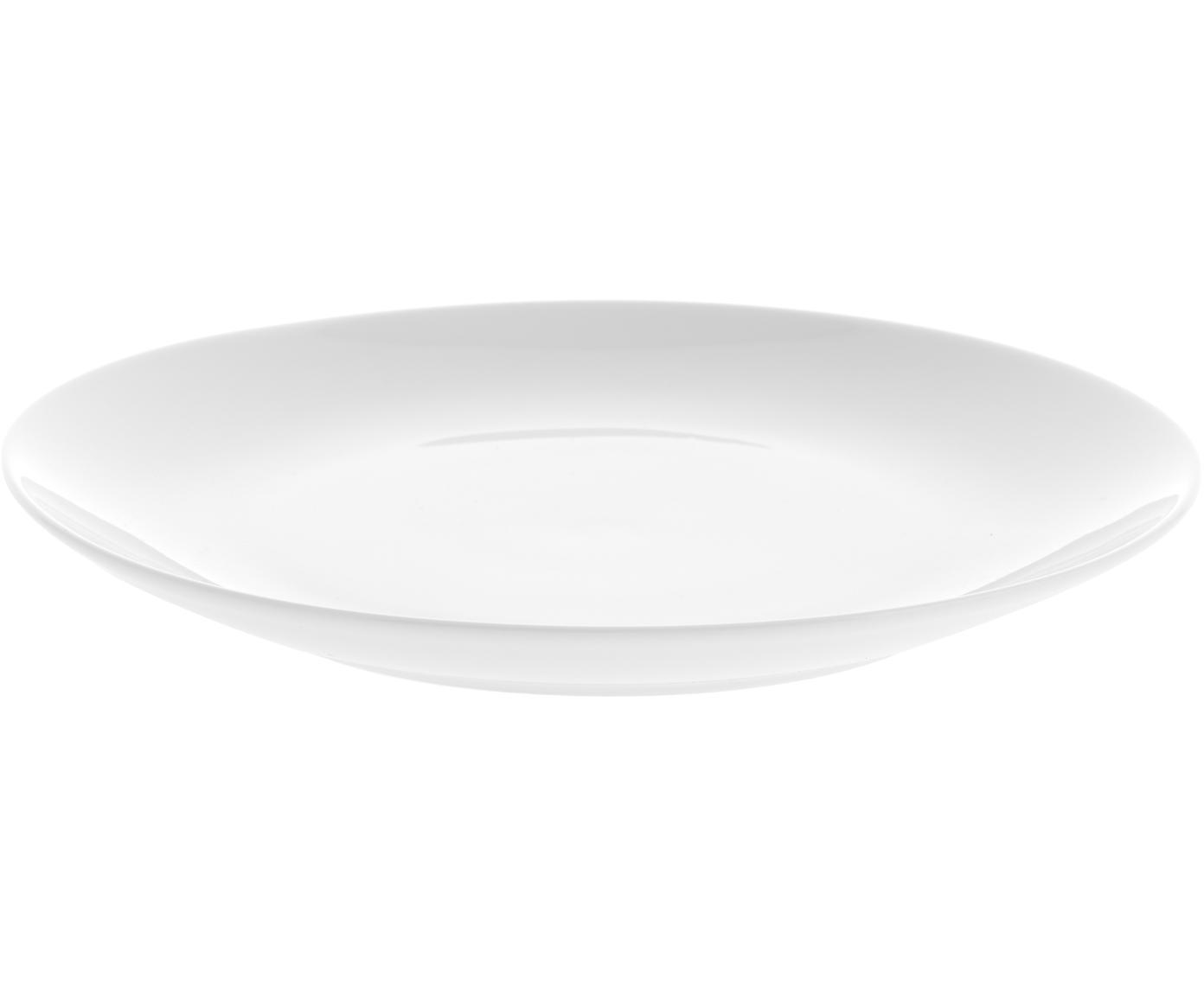 Piattino da dessert Delight Modern 2 pz, Porcellana, Bianco, Ø 20 cm