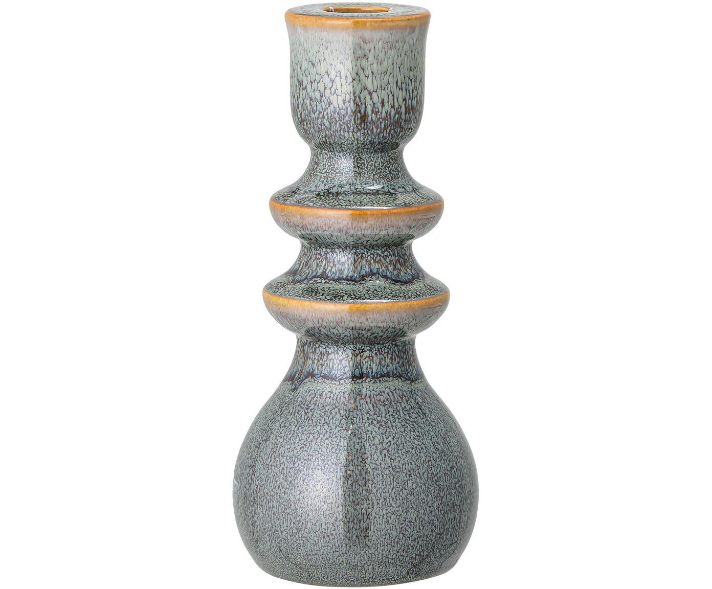 Candelabro fatto a mano Kit, Terracotta, Verde, marrone, Ø 8 x Alt. 19 cm