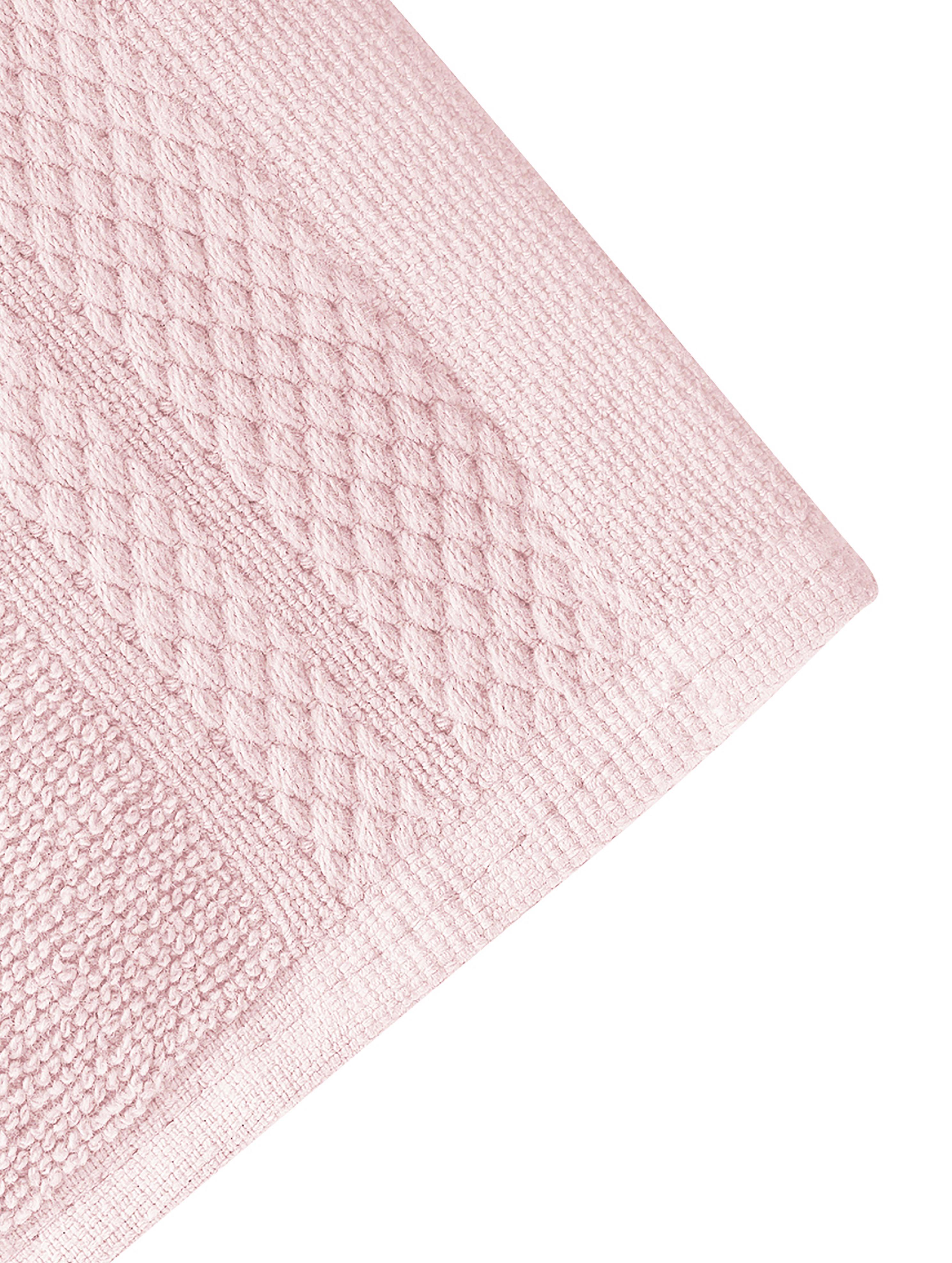 Handtuch-Set Premium mit klassischer Zierbordüre, 3-tlg., Altrosa, Sondergrößen