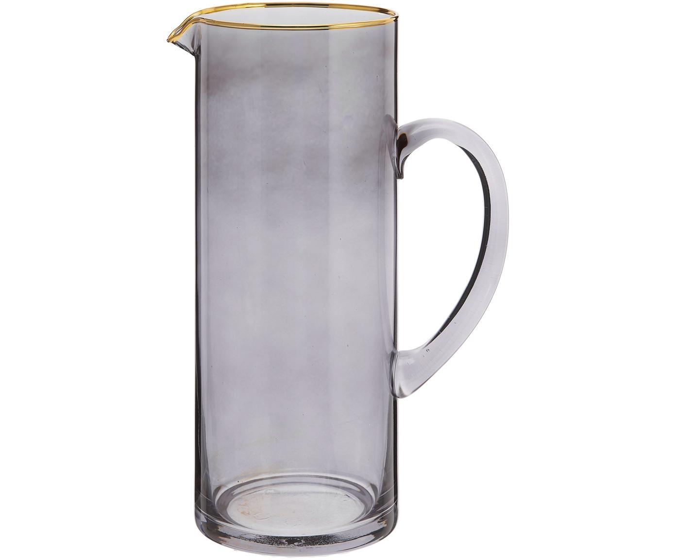 Karaf Chloe, Glas, Grijsblauw, 1.6 L