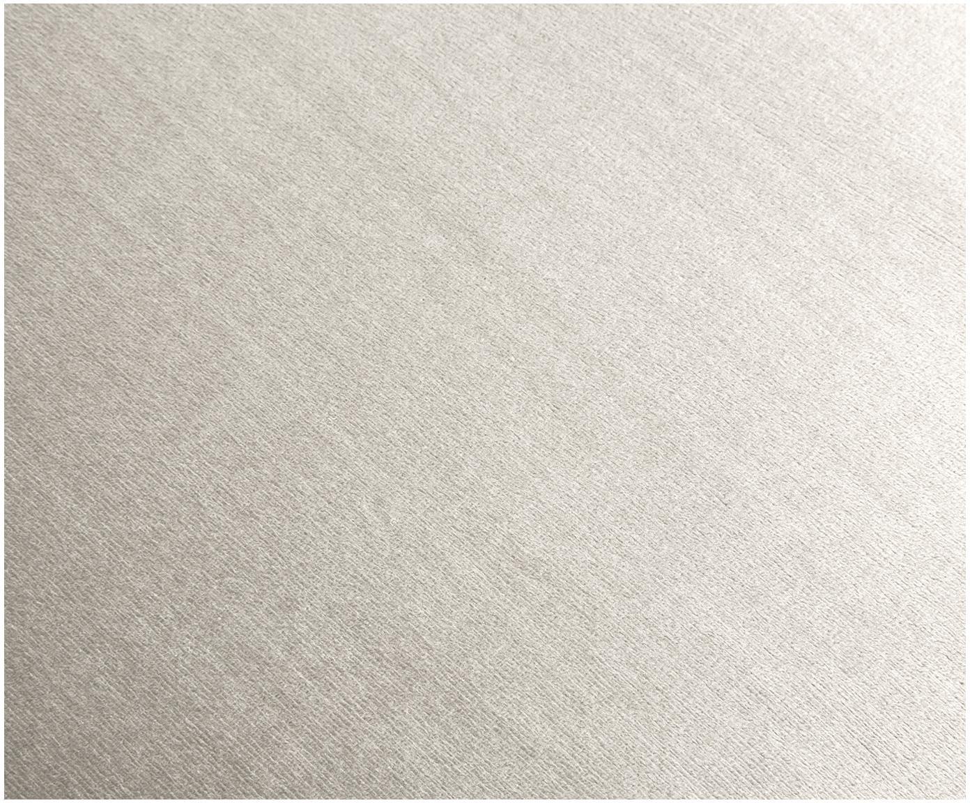 Fluwelen armleunstoel Rachel, Bekleding: fluweel (polyester), Poten: gepoedercoat metaal, Fluweel beige, B 47 x D 64 cm