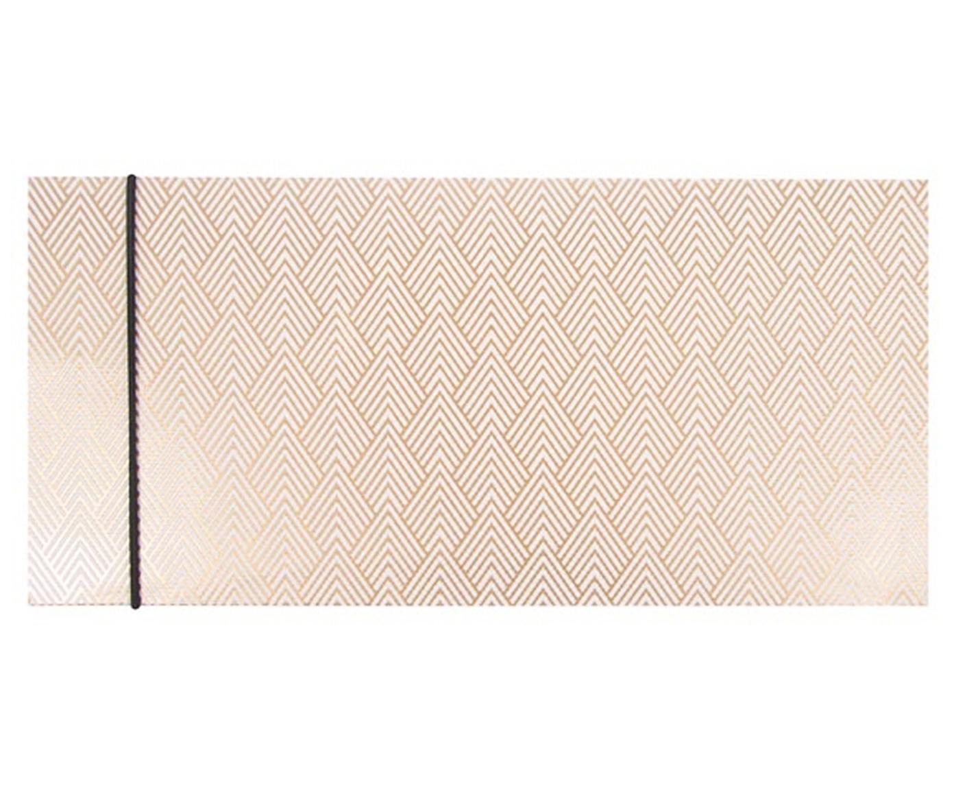 Koperta na prezent Diamonds, 2 szt., Papier, Odcienie złotego, biały, S 23 x W 11 cm