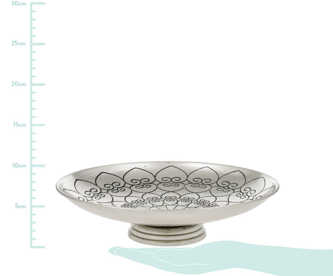 Deko-Schale Toledo, Metall, Metall, Ø 27 x H 7 cm