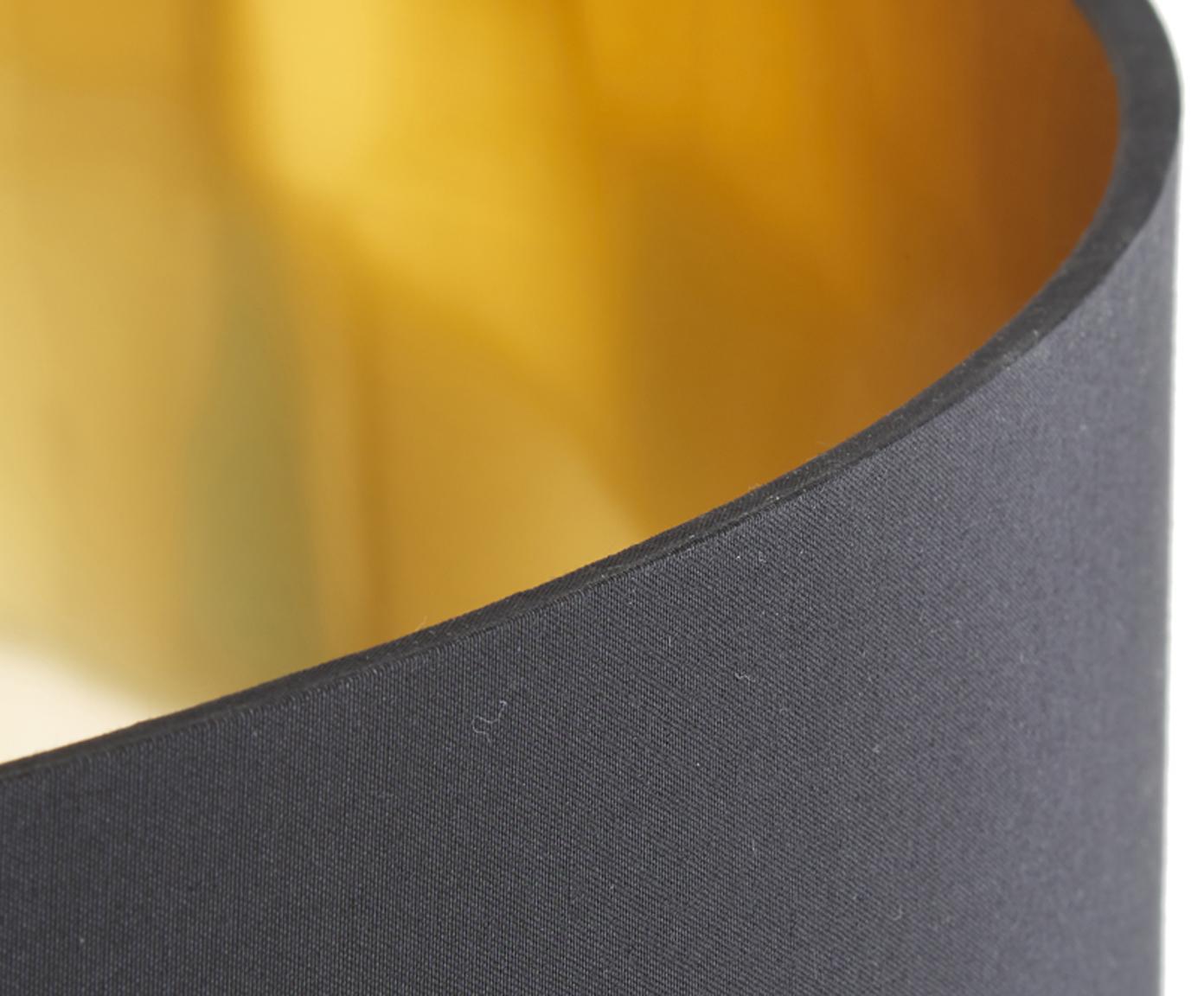 Lampa podłogowa Jessica, Czarny, miedź, Ø 45 x W 155 cm