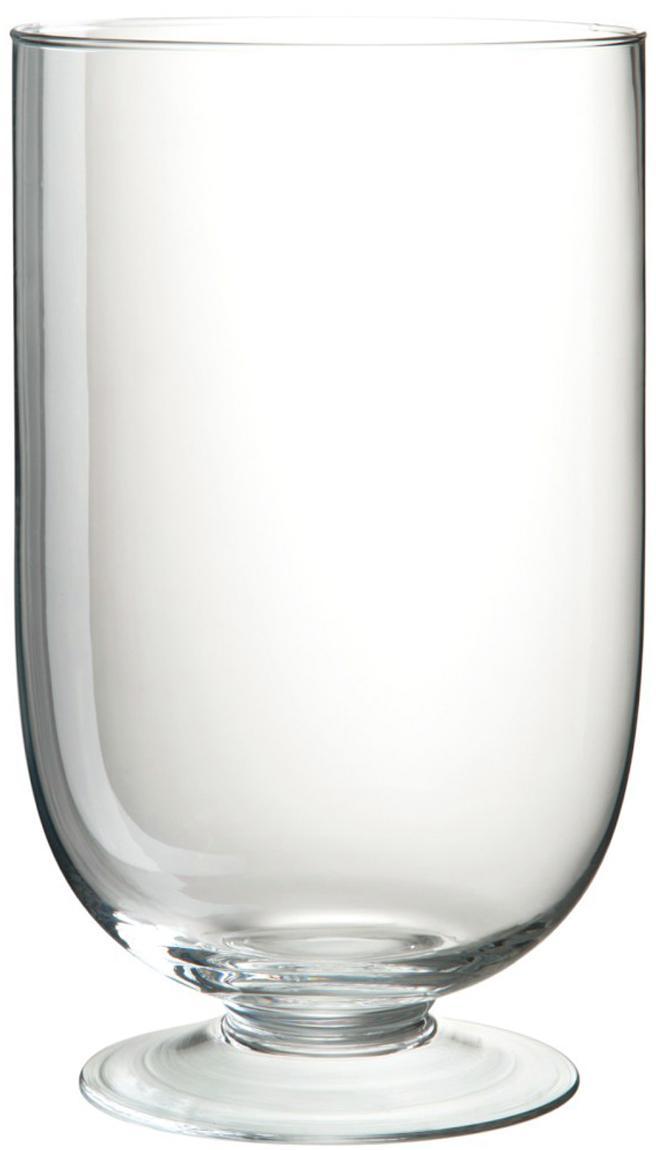 Jarrón de vidrio Clery, Vidrio, Transparente, Ø 15 x Al 24 cm