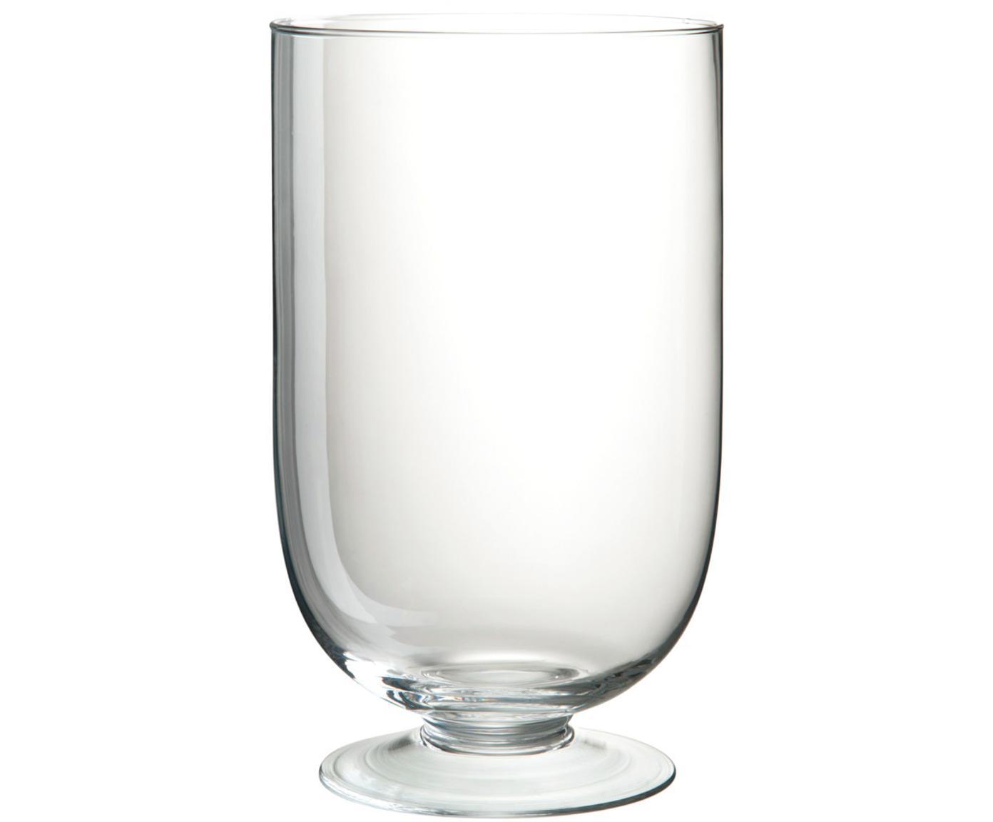 Glas-Vase Clery, Glas, Transparent, Ø 15 x H 24 cm