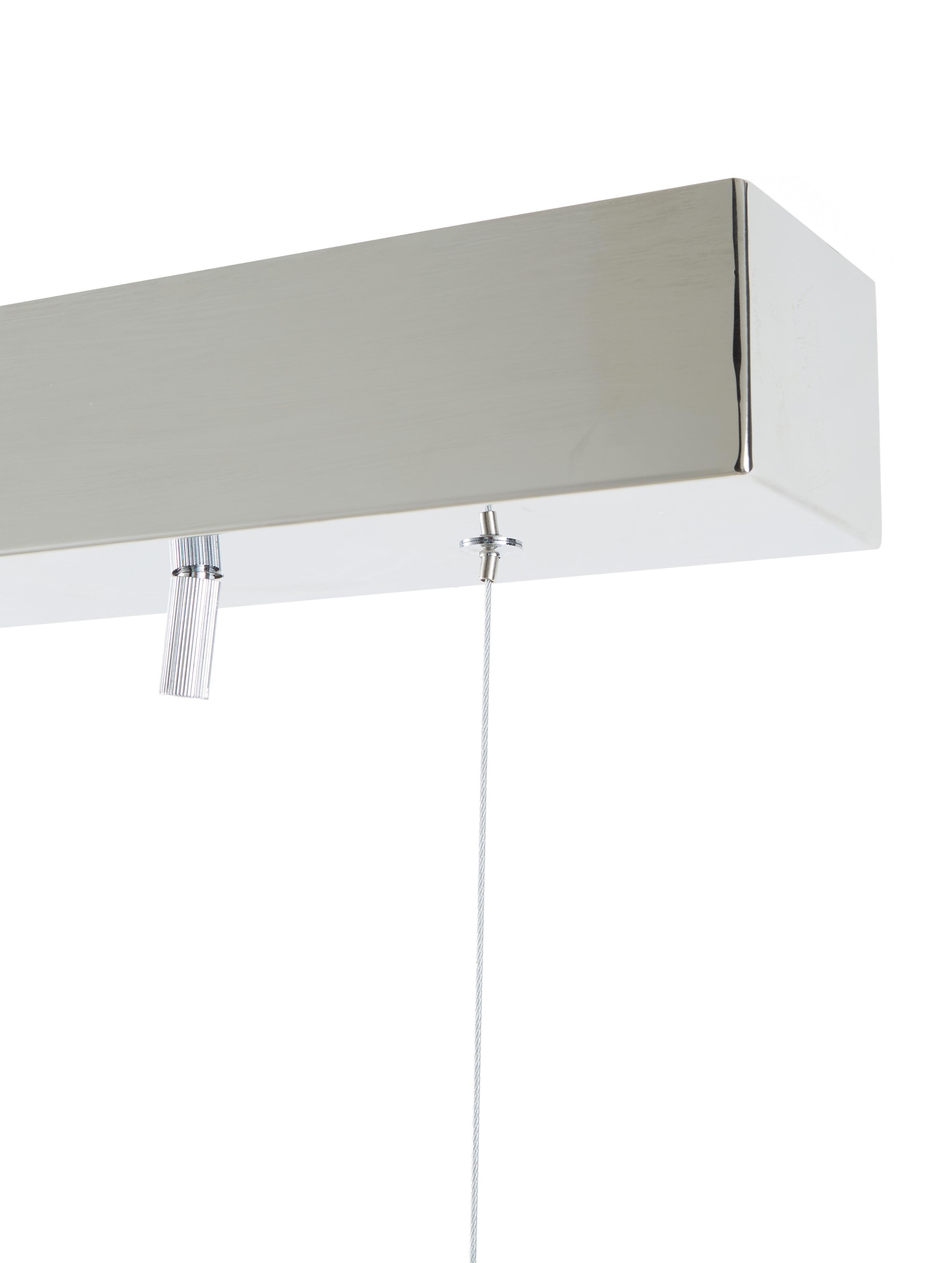 Duża lampa wisząca ze szkła Gross Bar, Odcienie bursztynowego, S 80 x W 36 cm