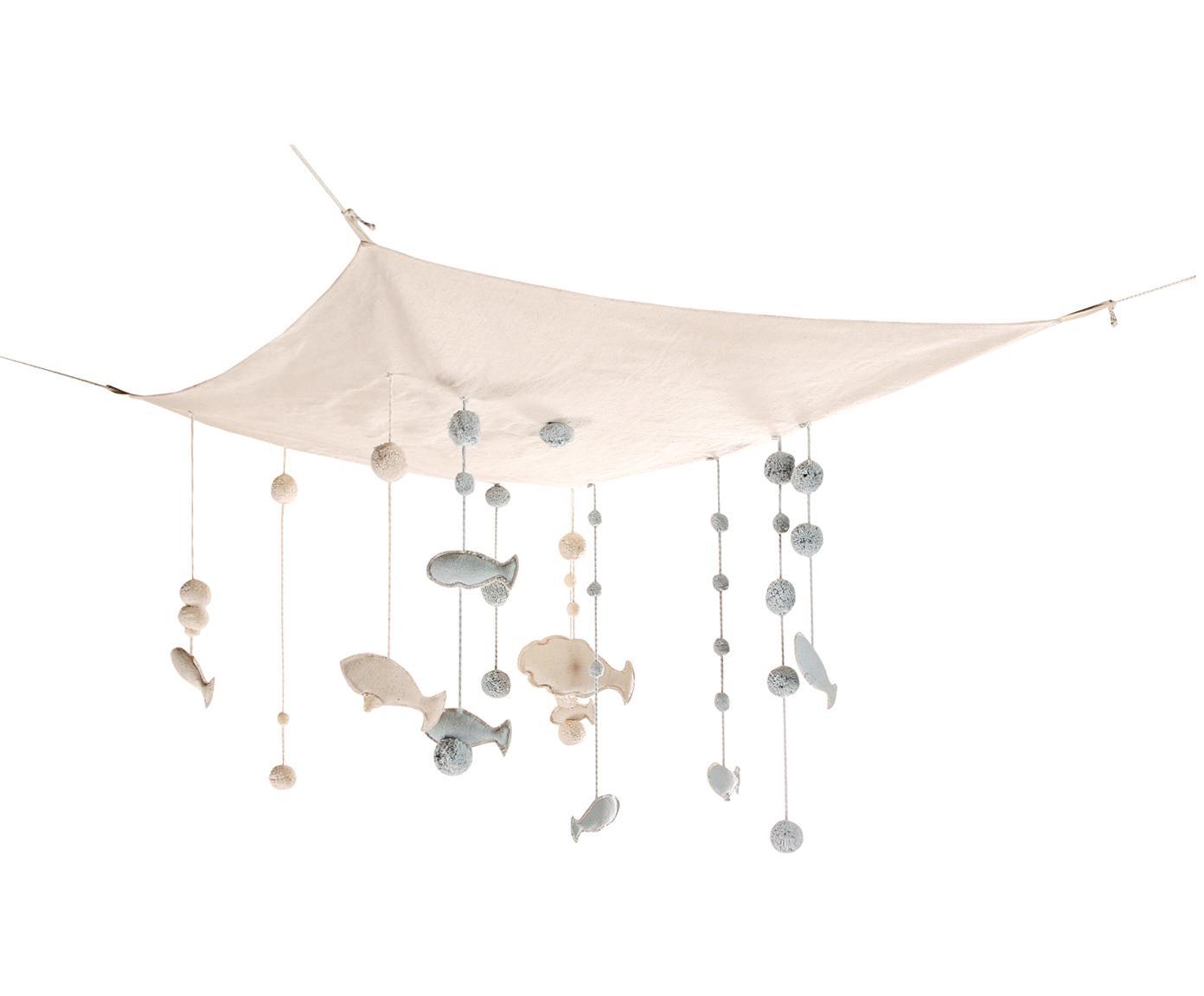 Decoración de techo XLSea Sky, Funda: 80%algodón, 20%algodón , Beige, An 100 x L 120 cm