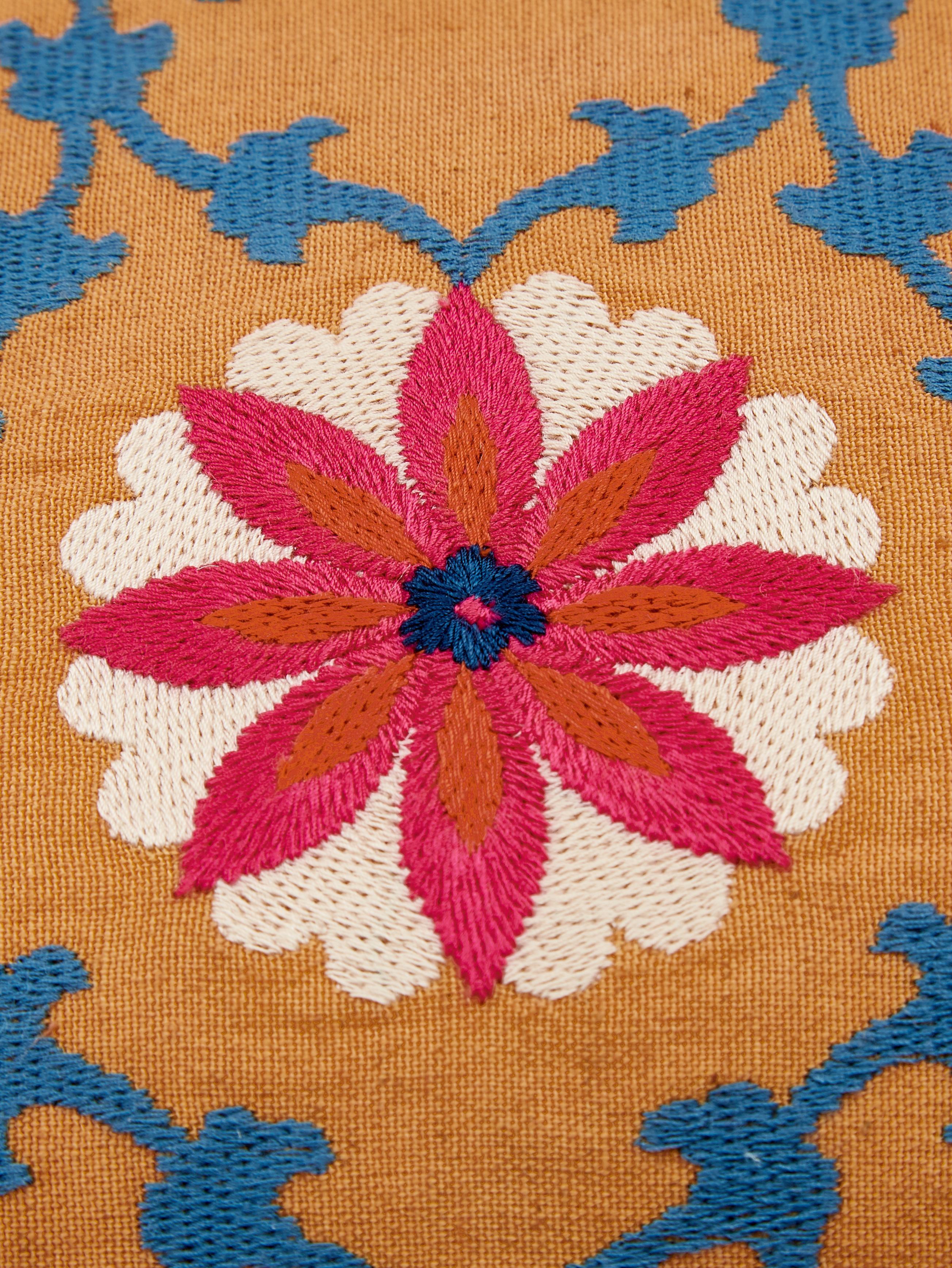 Housse de coussin rectangulaire ethno Tabula, Jaune, multicolore