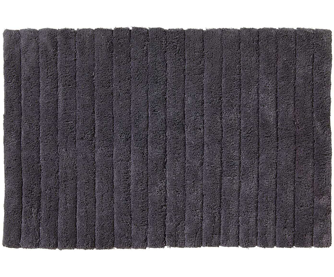 Dywanik łazienkowy Board, Bawełna, wysokagramatura, 1900g/m², Grafitowoszary, S 50 x D 60 cm