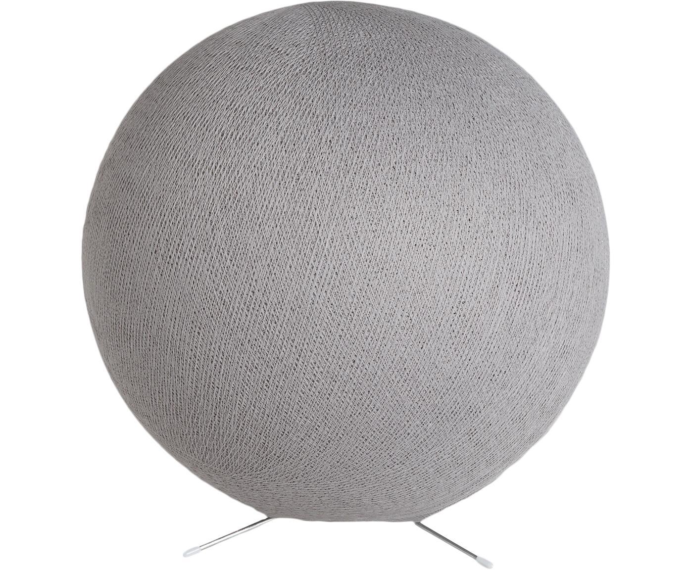 Tischleuchte Colorain, Lampenschirm: Polyester, Lampenfuß: Metall, Steingrau, Ø 36 cm