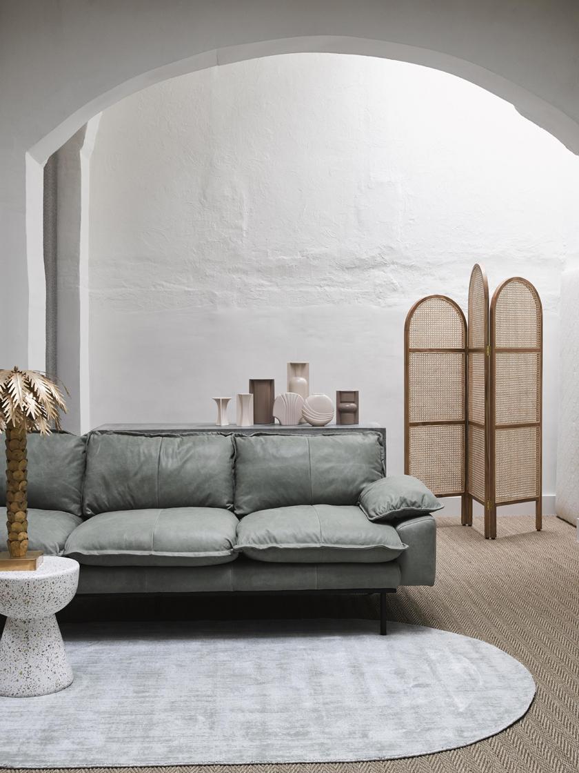 Beistelltisch Lars mit Terrazzo-Muster, Beton mit Terrazzo, Mehrfarbig, Ø 35 x H 44  cm