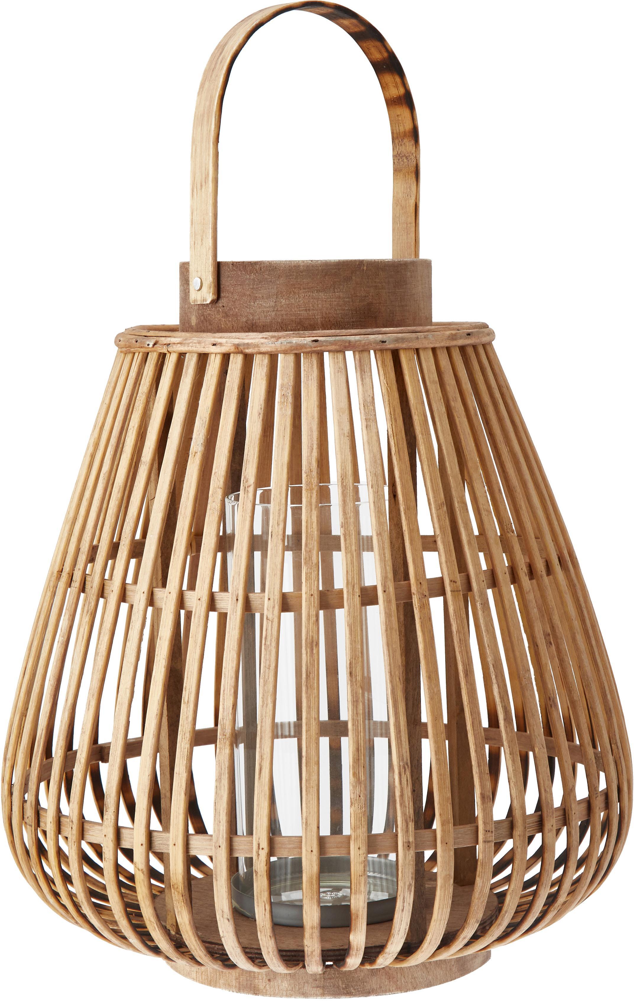 Świecznik Balu, Beżowy, Ø 30 x W 33 cm