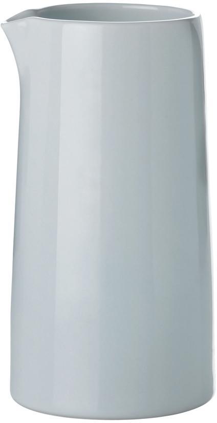 Thermo-melkkan Emma, Porselein, Blauw, grijs, Ø 14 cm