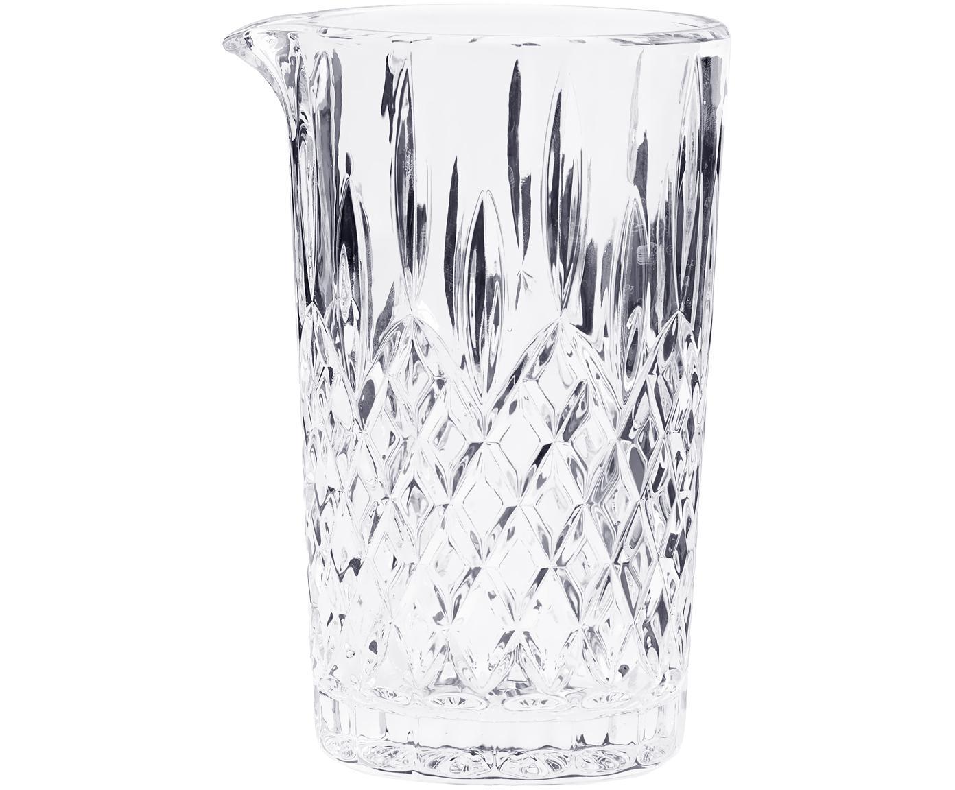 Kryształowa karafka Waltham, Szkło kryształowe, Transparentny, 500 ml
