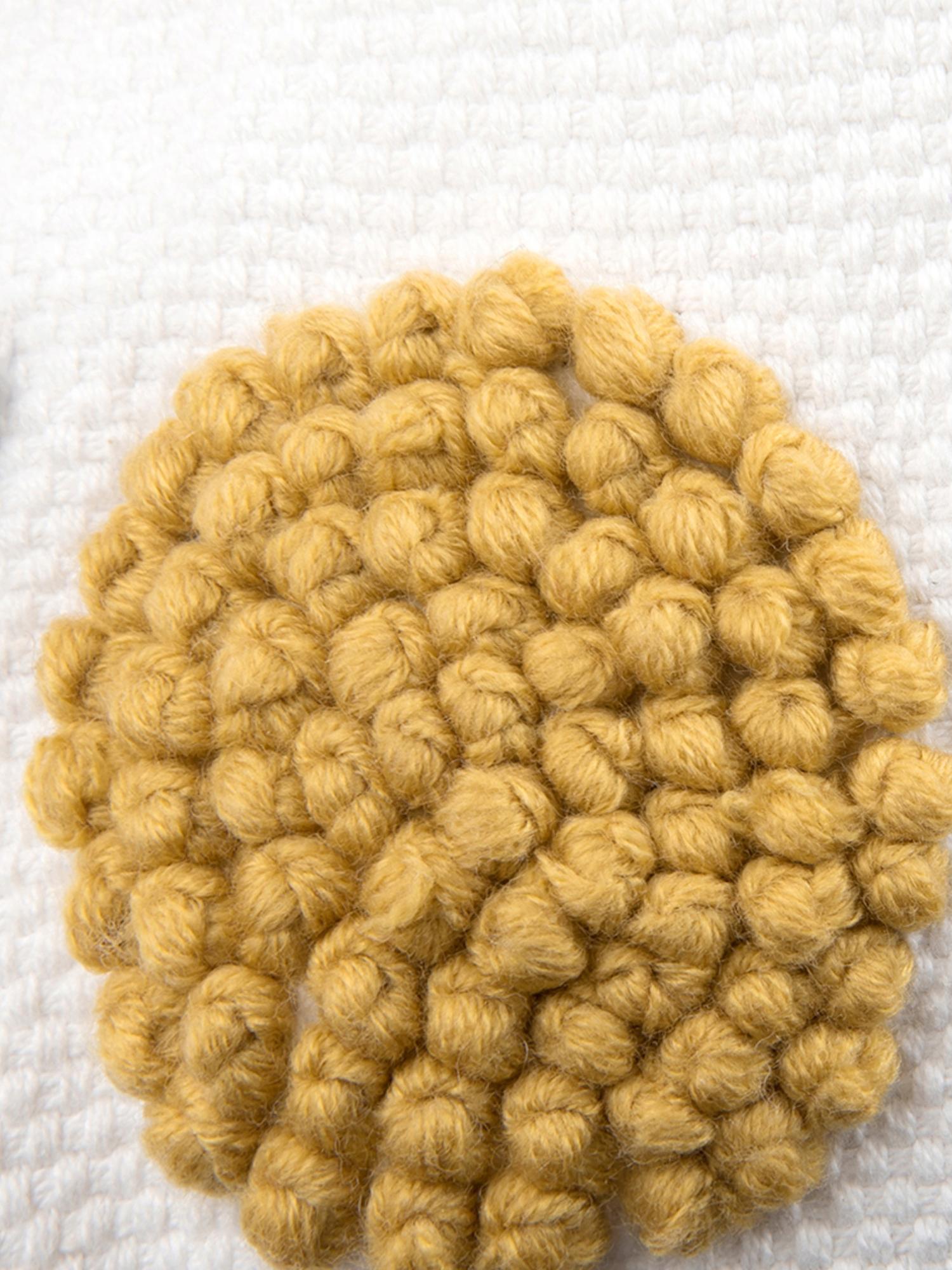 Kissenhülle Wassily mit abstrakter Verzierung, 100% Baumwolle, Vorderseite: Mehrfarbig Rückseite: Weiss, 45 x 45 cm