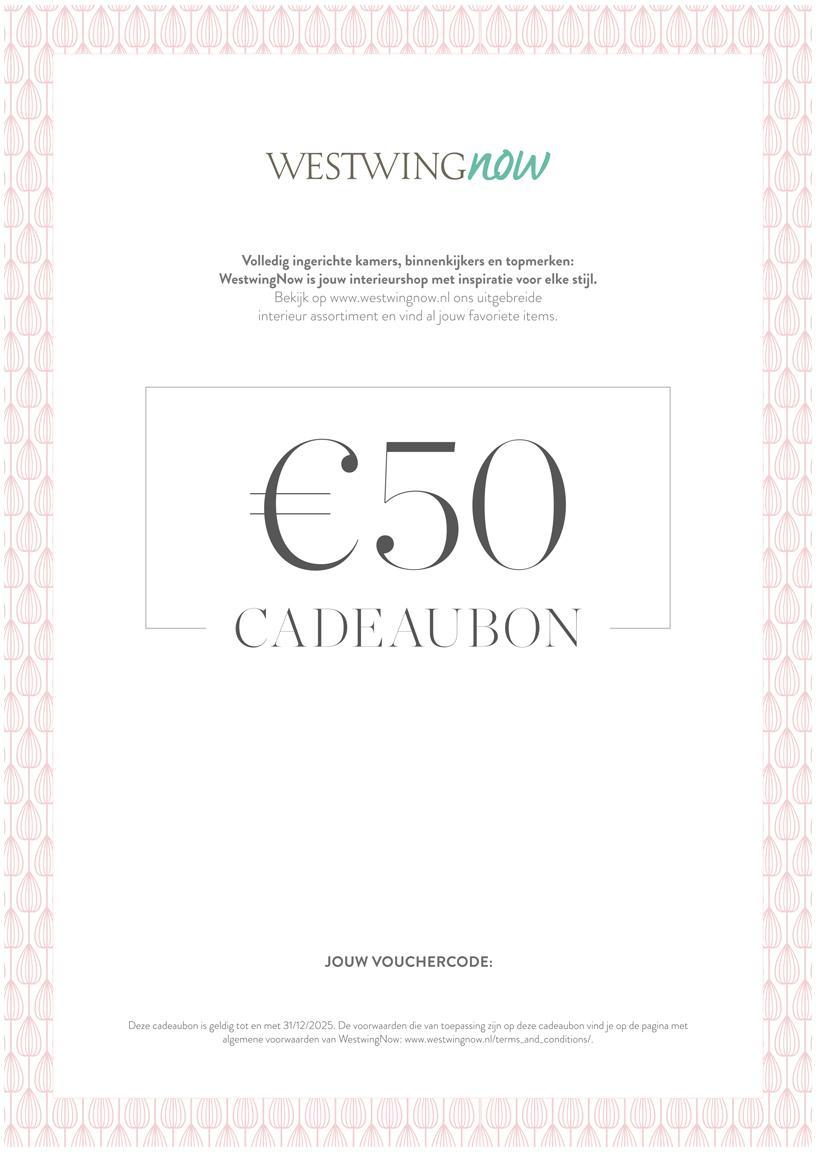 Cadeaubon om zelf te printen, Digitale cadeaubon Na ontvangst van de betaling ontvang je een e-mail met de downloadlink naar je cadeaubon. Je kunt het PDF-bestand gemakkelijk opslaan en afdrukken., Multicolour, 50