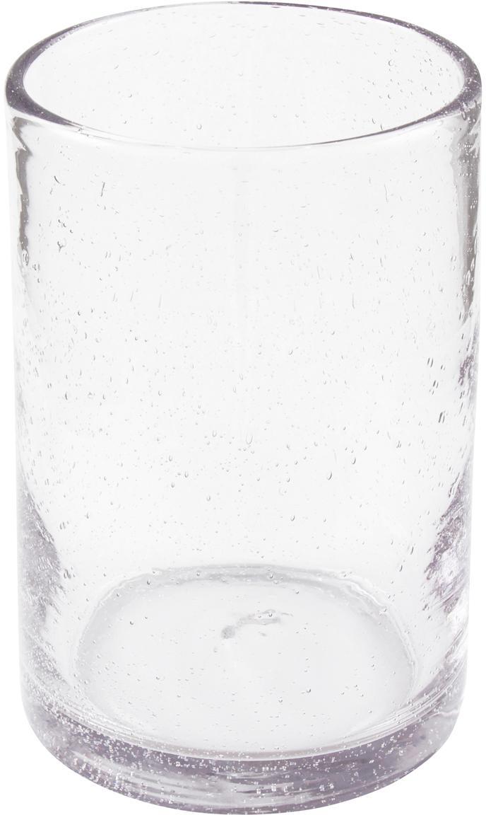 Glas-Vase Spring, Glas, Transparent, Ø 13 x H 18 cm