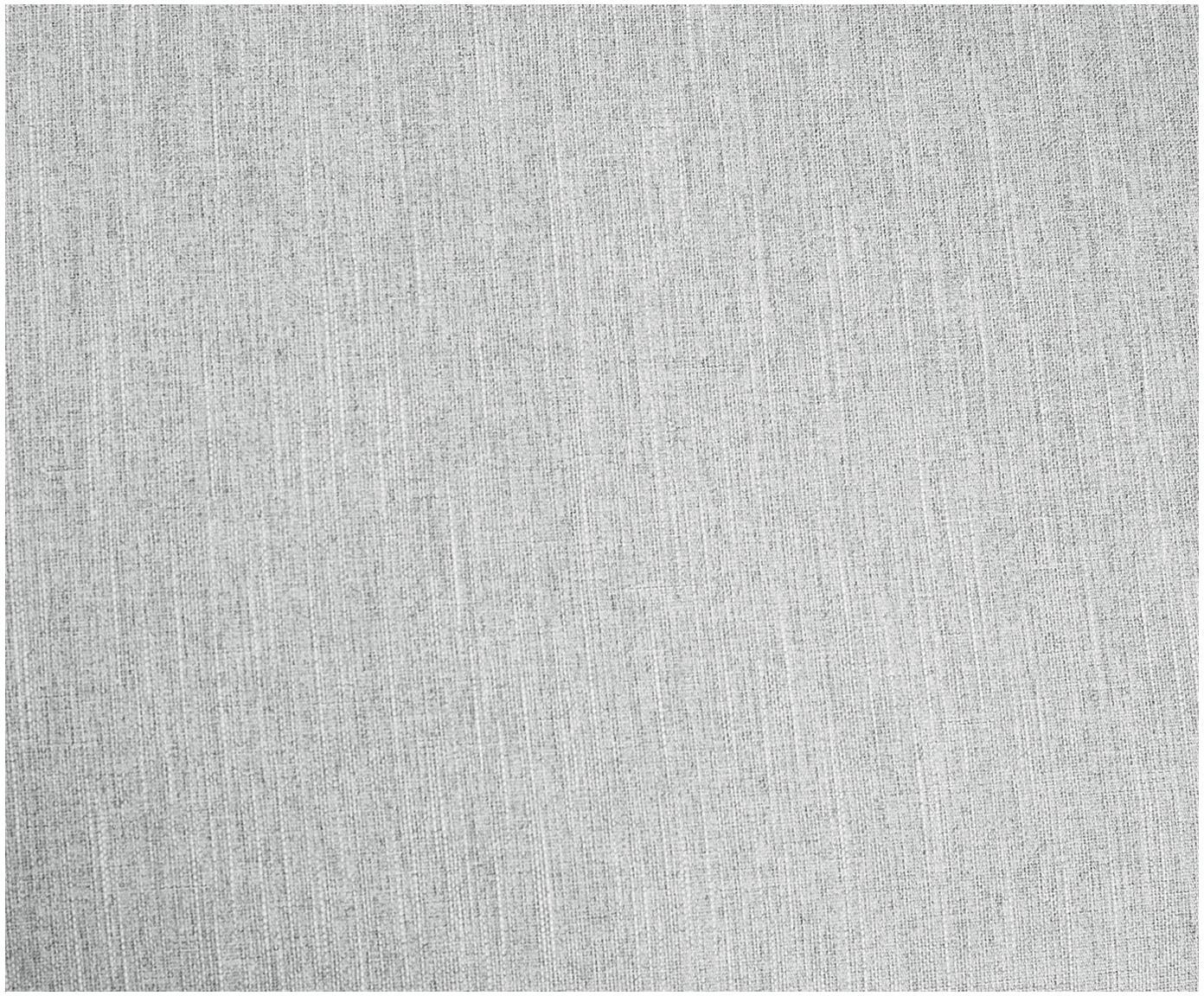 Sofa narożna Melva (3-osobowa), Tapicerka: poliester 35000 cykli w , Stelaż: lite drewno sosnowe, płyt, Nogi: drewno sosnowe, Jasny szary, S 240 x G 144 cm