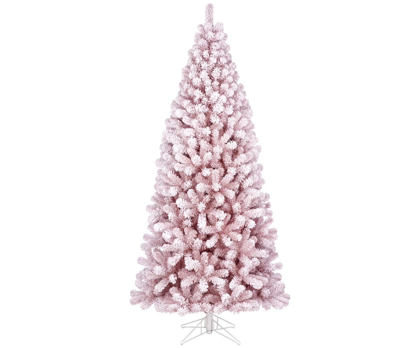 Choinka dekoracyjna Cembra, Blady różowy, Ø 94 x W 185 cm