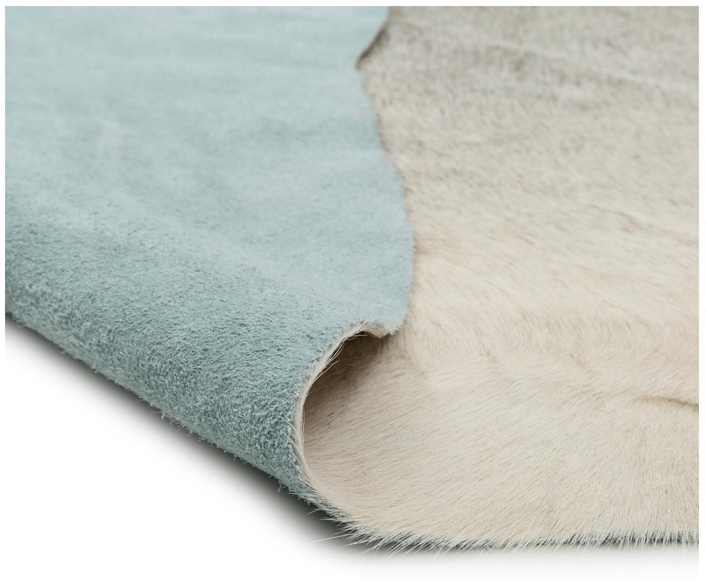 Tappeto in pelle di mucca Anna, Pelle di mucca, Bianco, beige, Pelle di mucca unica 1090