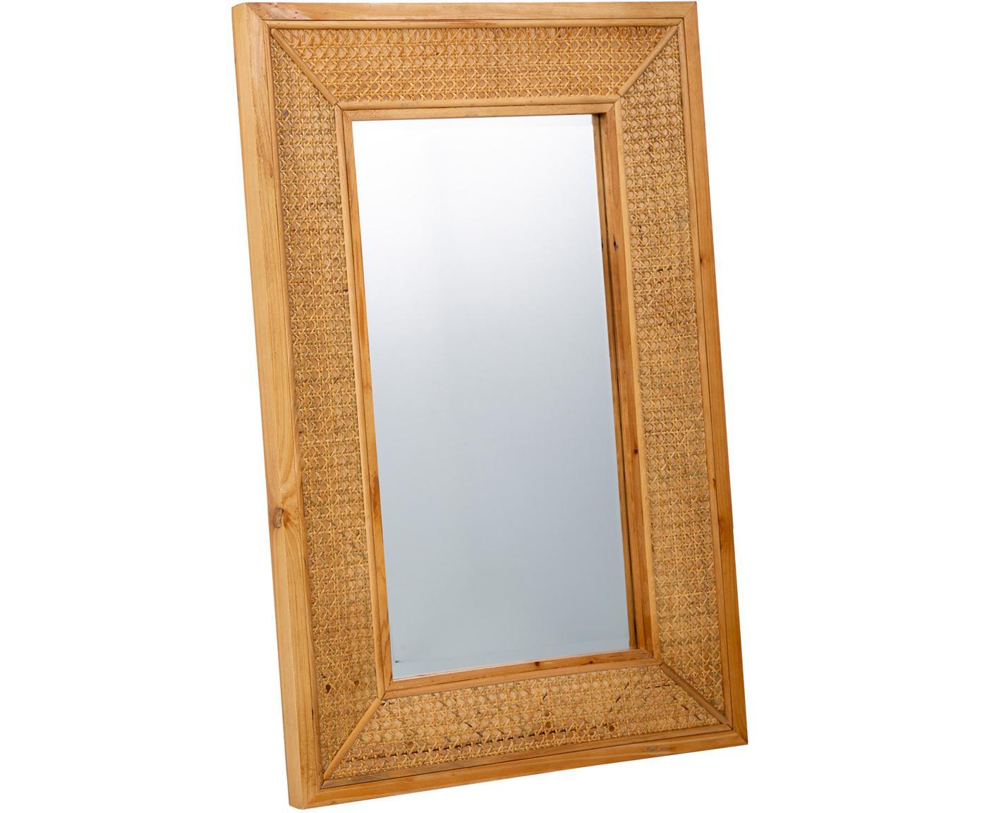 Espejo de pared Nina, Espejo: cristal, Beige, An 60 x Al 90 cm