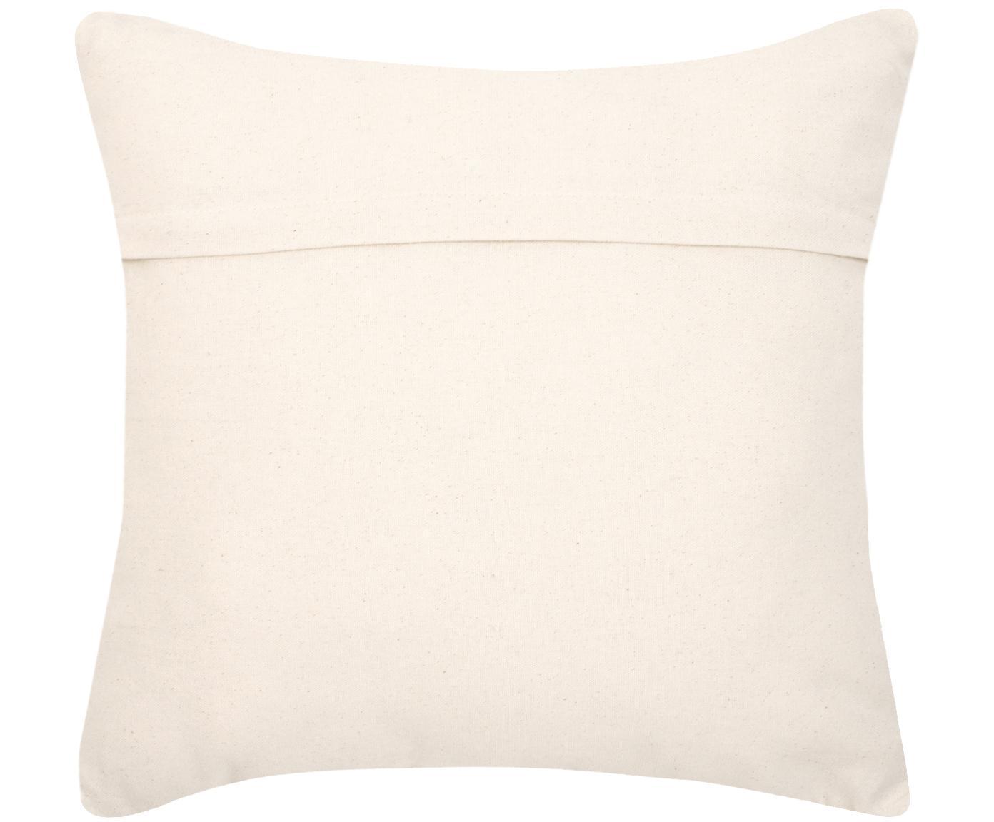 Poszewka na poduszkę Cancun, 100% bawełna, Czarny, beżowy, S 45 x D 45 cm
