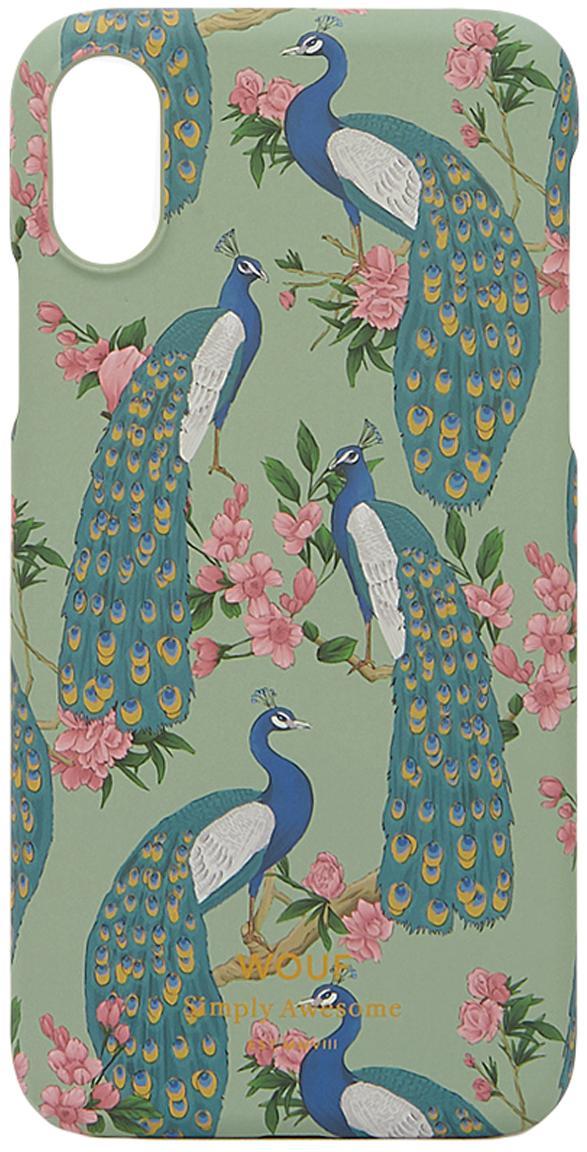 Funda para iPhoneX Royal Forest, Silicona, Multicolor, An 7 x Al 15 cm